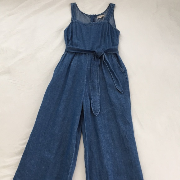 66349cf964e Madewell Pants - Madewell Muralist Chambray Jumpsuit